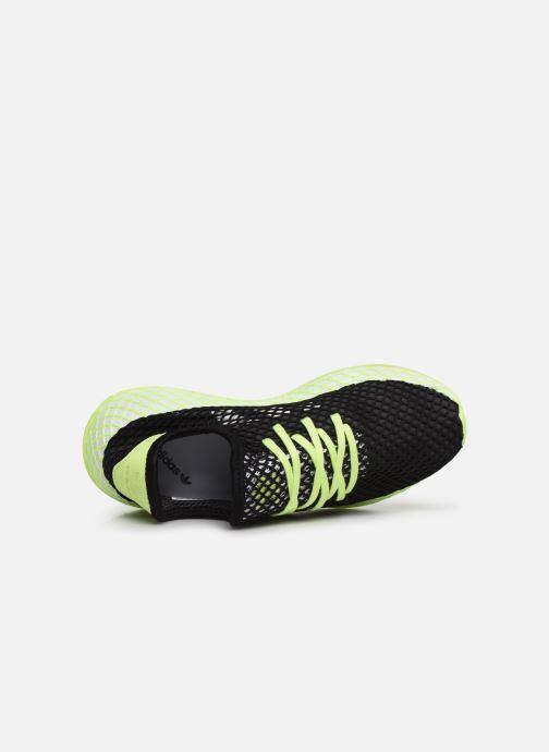 Sneakers adidas originals Deerupt Runner J Svart bild från vänster sidan