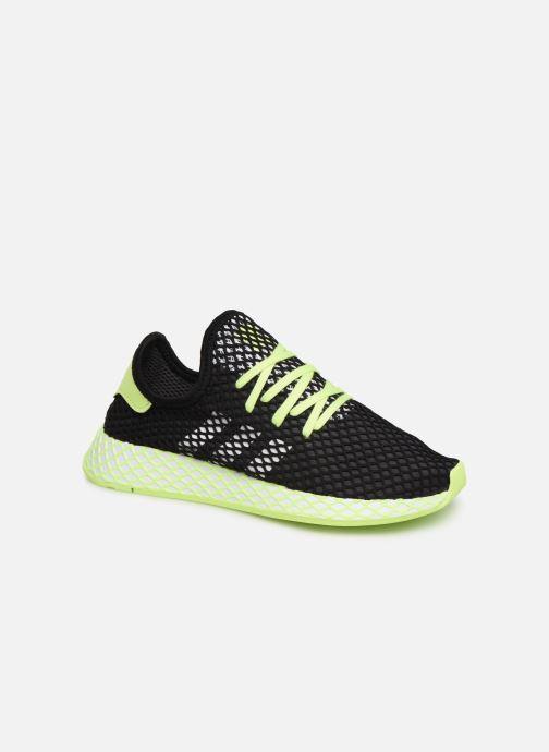 Sneakers adidas originals Deerupt Runner J Svart detaljerad bild på paret