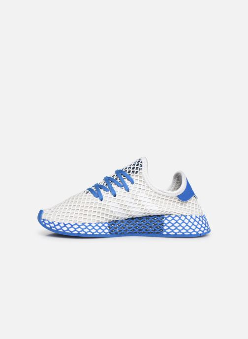 Baskets adidas originals Deerupt Runner J Blanc vue face