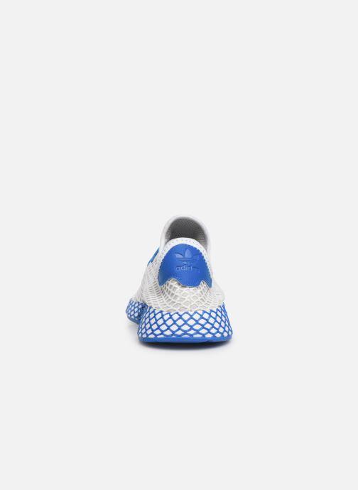 Deportivas adidas originals Deerupt Runner J Blanco vista lateral derecha