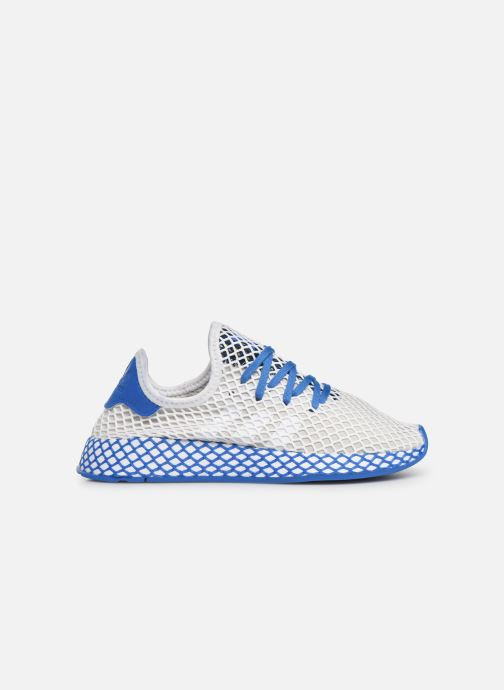 Baskets adidas originals Deerupt Runner J Blanc vue derrière