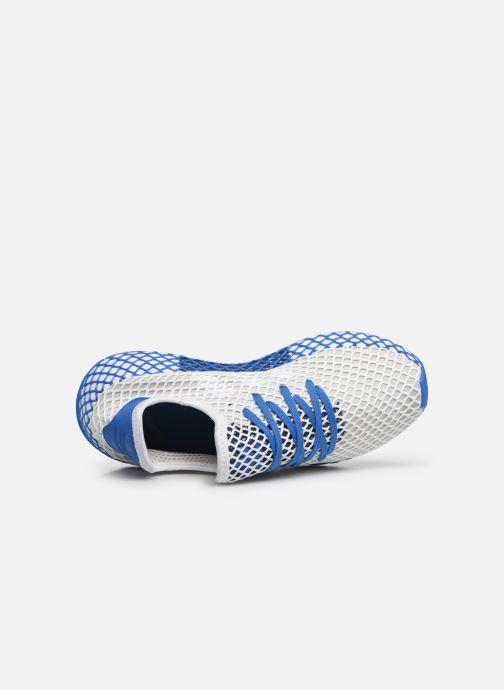 Deportivas adidas originals Deerupt Runner J Blanco vista lateral izquierda