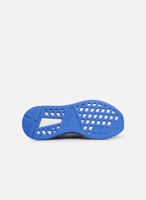 Baskets adidas originals Deerupt Runner J Blanc vue haut