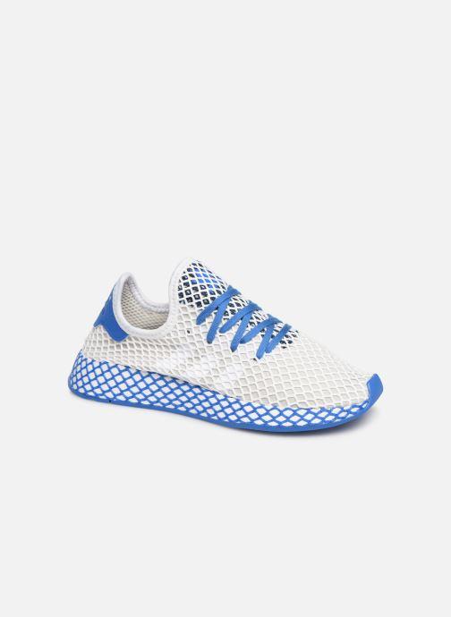 Baskets adidas originals Deerupt Runner J Blanc vue détail/paire