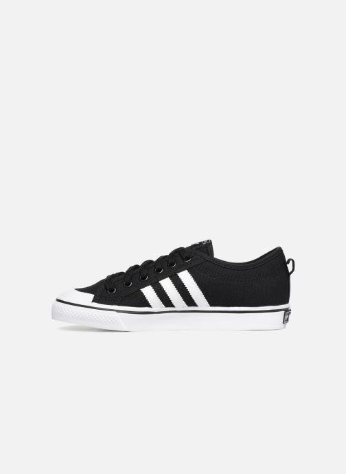 Sneakers adidas originals Nizza J Zwart voorkant