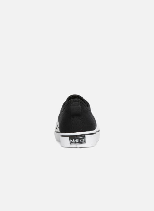 Sneakers adidas originals Nizza J Zwart rechts