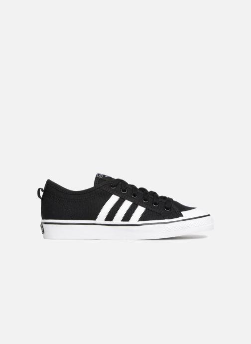 Sneakers adidas originals Nizza J Zwart achterkant