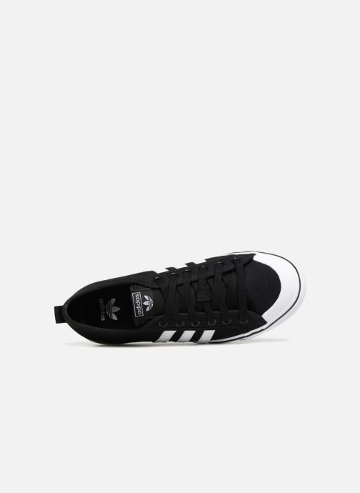 Trainers adidas originals Nizza J Black view from the left