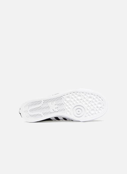 Sneakers adidas originals Nizza J Zwart boven