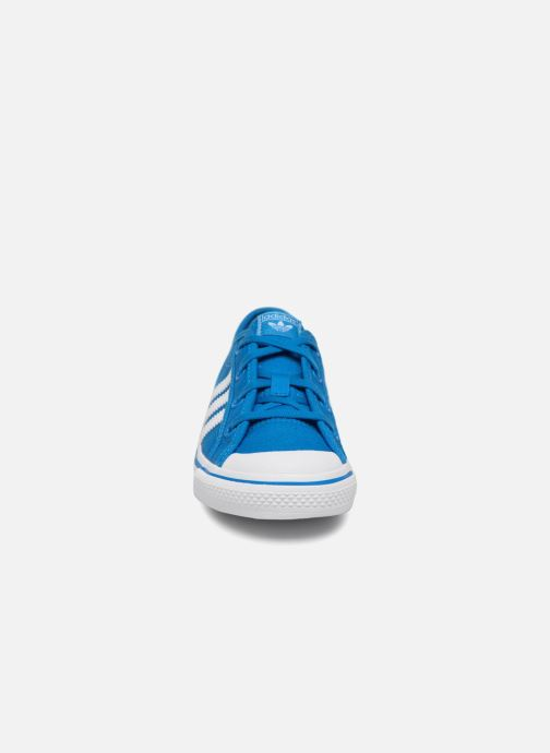 Trainers adidas originals Nizza C Blue model view