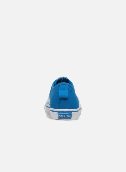 Trainers adidas originals Nizza C Blue view from the right