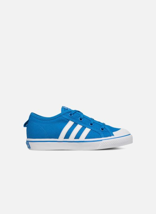 Trainers adidas originals Nizza C Blue back view