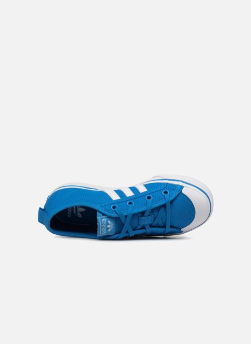 Trainers adidas originals Nizza C Blue view from the left