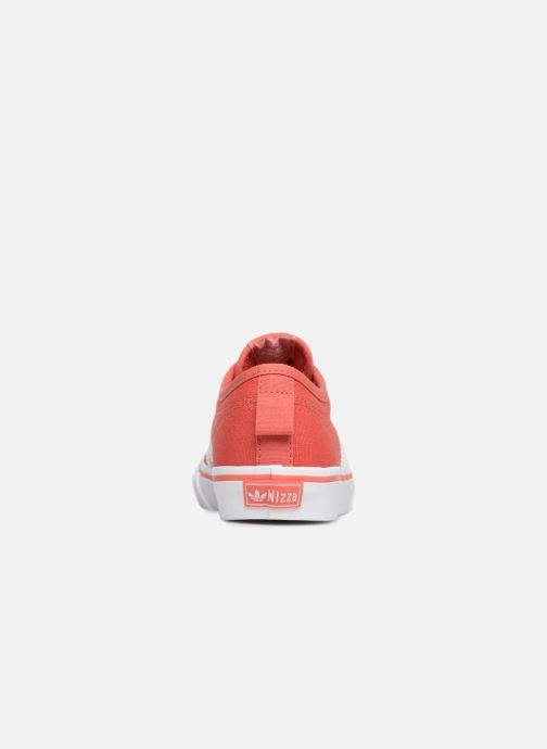 Baskets adidas originals Nizza C Rouge vue droite