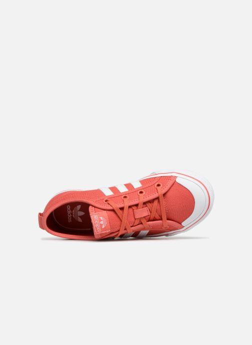 Baskets adidas originals Nizza C Rouge vue gauche
