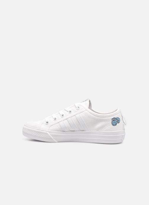 Sneakers adidas originals Nizza C Wit voorkant