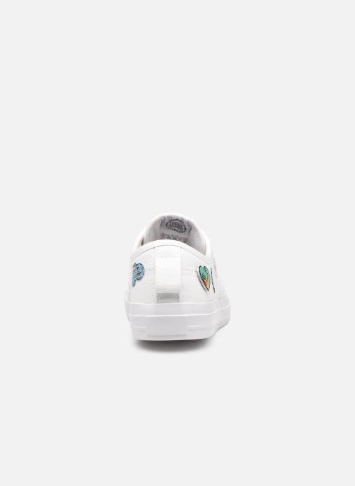 Sneakers adidas originals Nizza C Wit rechts