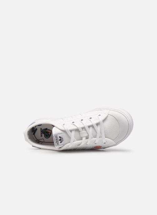 Sneakers adidas originals Nizza C Wit links