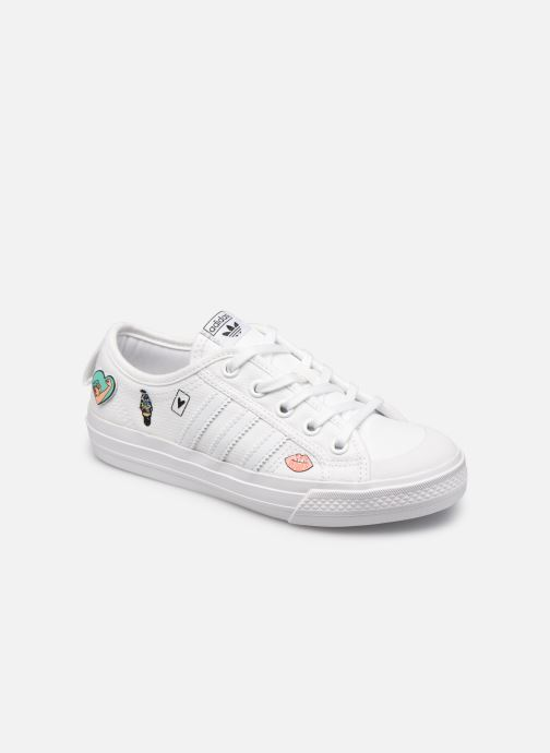 Sneakers adidas originals Nizza C Wit detail