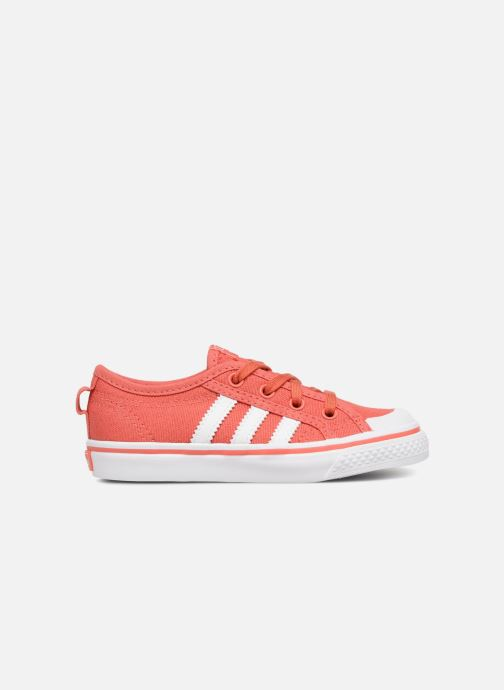 Sneakers adidas originals Nizza I Roze achterkant