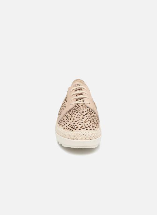 Chaussures à lacets The Flexx Call U Marron vue portées chaussures