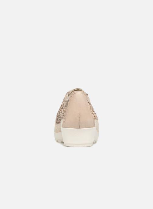 Chaussures à lacets The Flexx Call U Marron vue droite