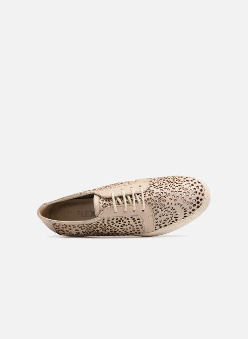 Chaussures à lacets The Flexx Call U Marron vue gauche