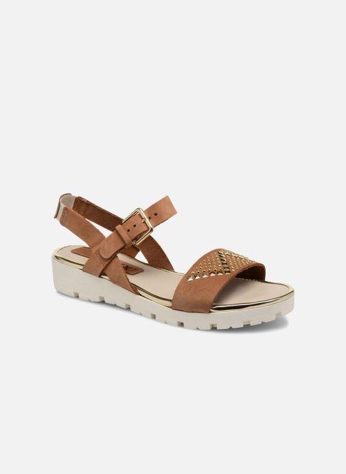 Sandales et nu-pieds The Flexx Caroline Marron vue détail/paire