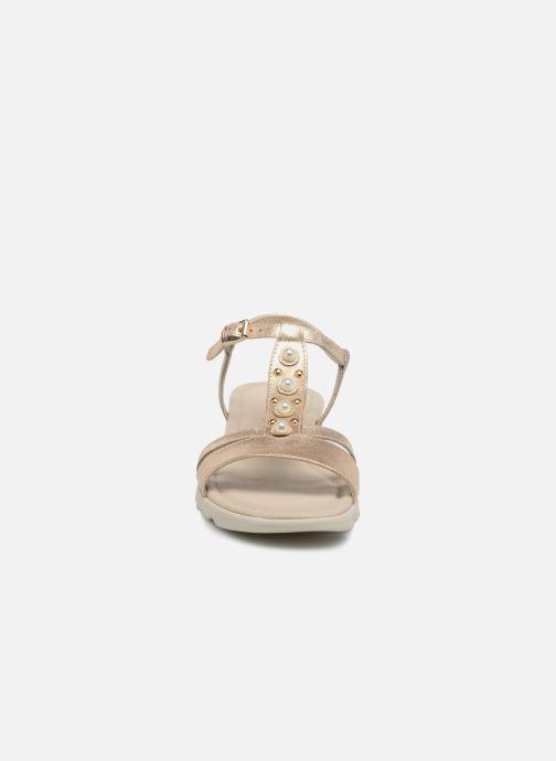 Sandales et nu-pieds The Flexx Cut Me Or et bronze vue portées chaussures