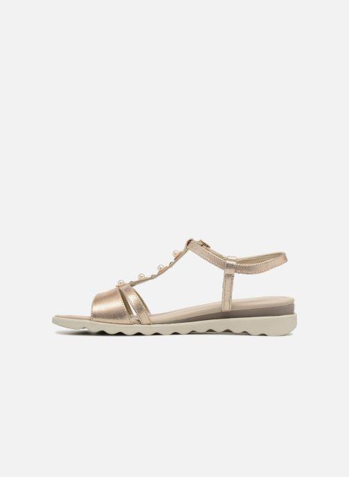 Sandales et nu-pieds The Flexx Cut Me Or et bronze vue face