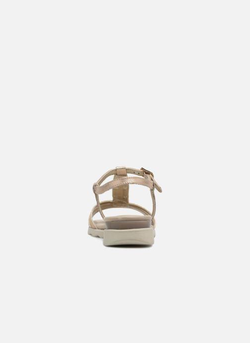 Sandales et nu-pieds The Flexx Cut Me Or et bronze vue droite
