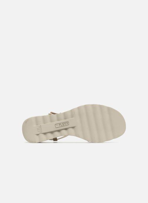 Sandales et nu-pieds The Flexx Cut Me Or et bronze vue haut