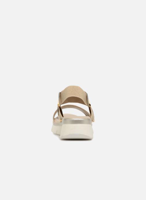Sandales et nu-pieds The Flexx Fonzie Or et bronze vue droite