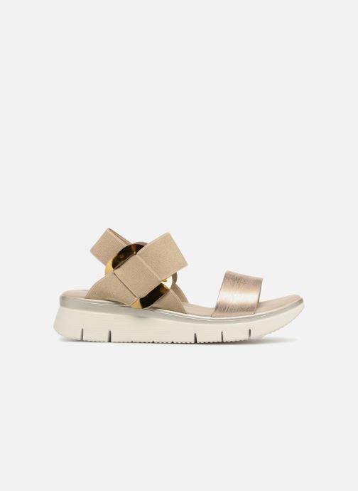 Sandales et nu-pieds The Flexx Fonzie Or et bronze vue derrière