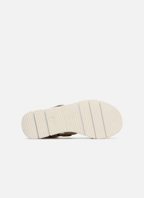 Sandales et nu-pieds The Flexx Fonzie Or et bronze vue haut