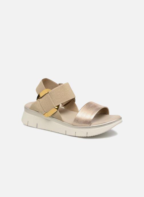 Sandales et nu-pieds The Flexx Fonzie Or et bronze vue détail/paire