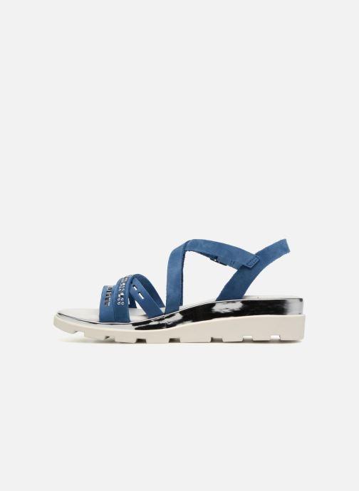 Sandals The Flexx Grimilde Blue front view