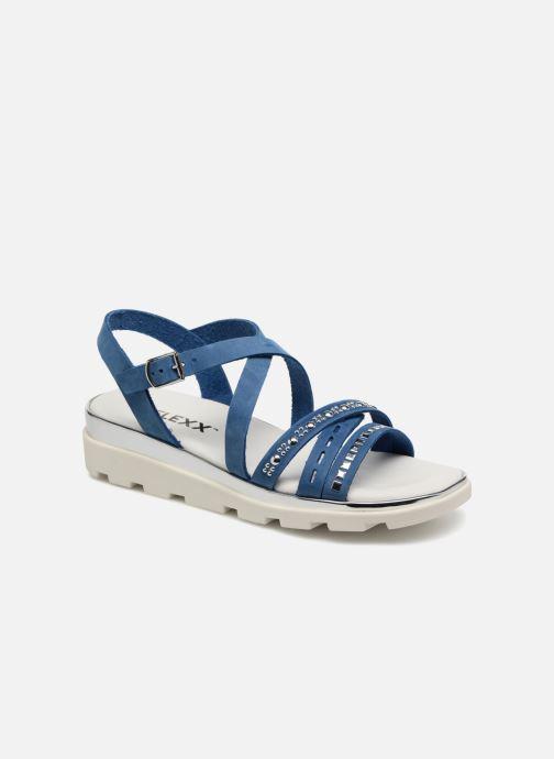 Sandals The Flexx Grimilde Blue detailed view/ Pair view