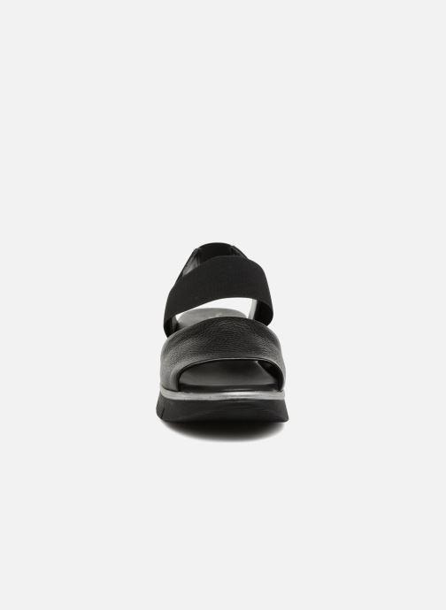 Sandales et nu-pieds The Flexx Joanie Noir vue portées chaussures
