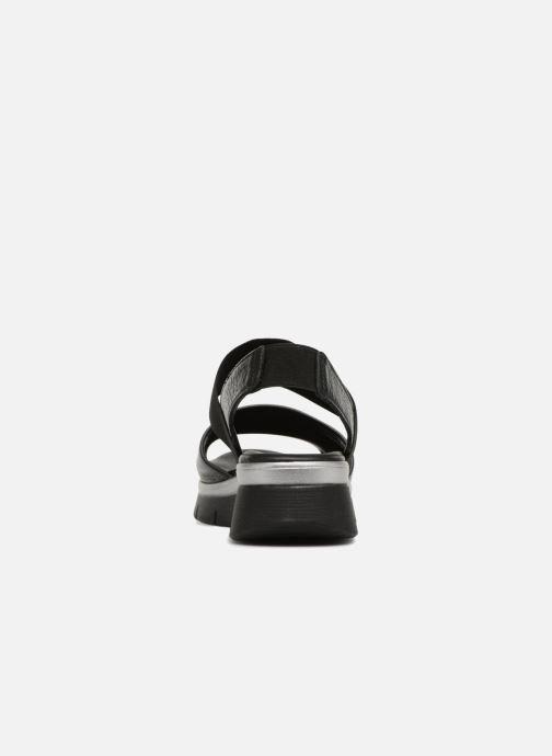 Sandales et nu-pieds The Flexx Joanie Noir vue droite