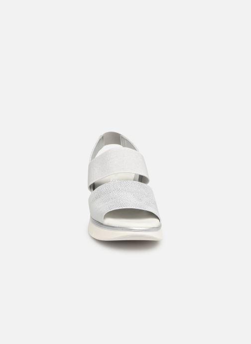 Sandales et nu-pieds The Flexx Joanie Argent vue portées chaussures