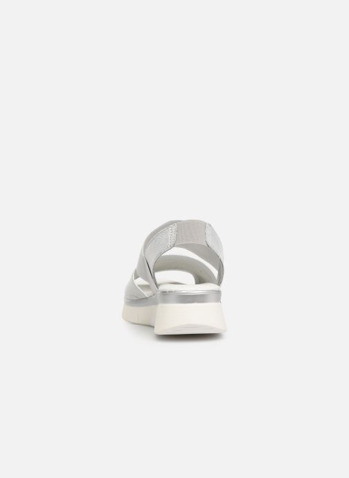 Sandals The Flexx Joanie Silver view from the right