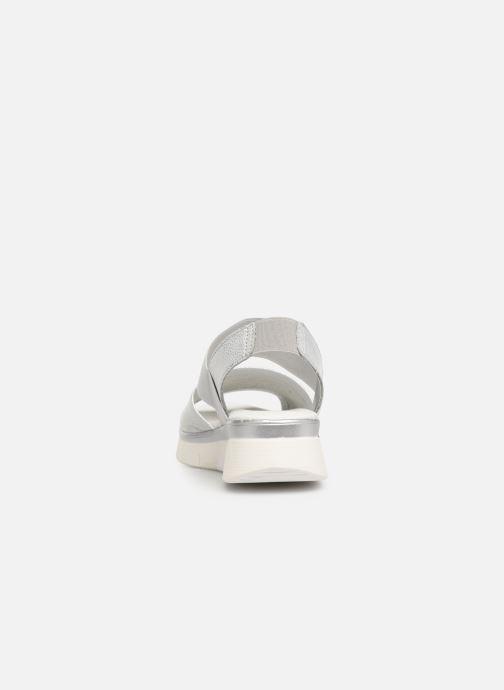 Sandales et nu-pieds The Flexx Joanie Argent vue droite