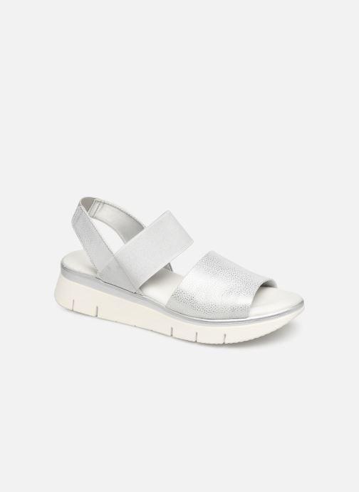 Sandales et nu-pieds The Flexx Joanie Argent vue détail/paire