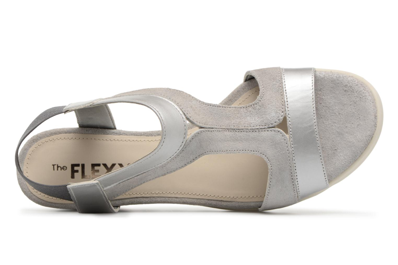 Sandales et nu-pieds The Flexx Little Tony Argent vue gauche