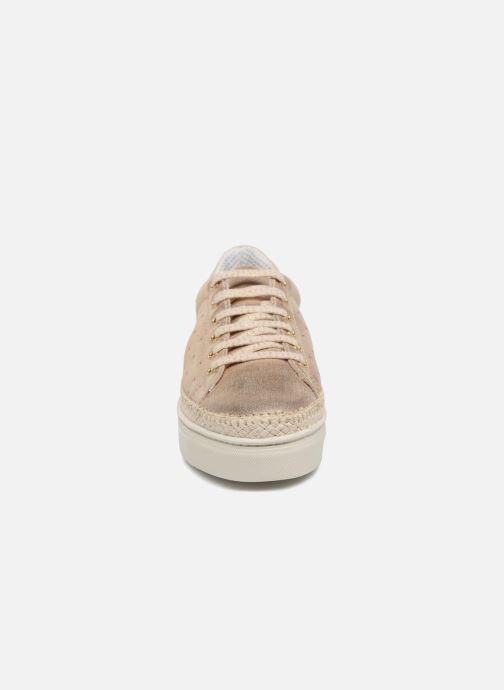 Baskets The Flexx Nemo Or et bronze vue portées chaussures