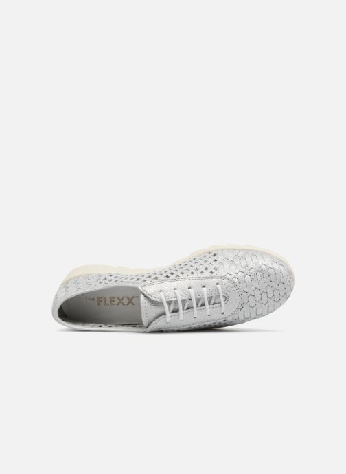 Sneakers The Flexx Over Drive Argento immagine sinistra