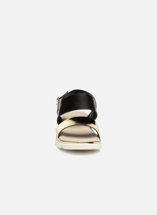 Sandales et nu-pieds The Flexx Samantha Or et bronze vue portées chaussures
