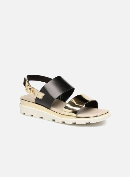 Sandales et nu-pieds The Flexx Samantha Or et bronze vue détail/paire