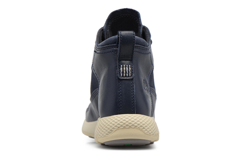 Baskets Timberland FlyRoam Leather Hiker Bleu vue droite